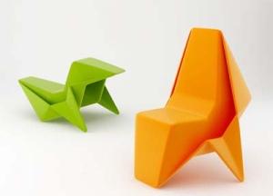 La sedia origami