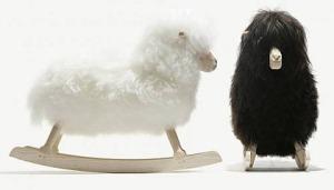 La pecora a dondolo