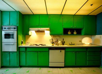 Ispirazioni la cucina verde smeraldo il cestino da picnic - La cucina verde ...
