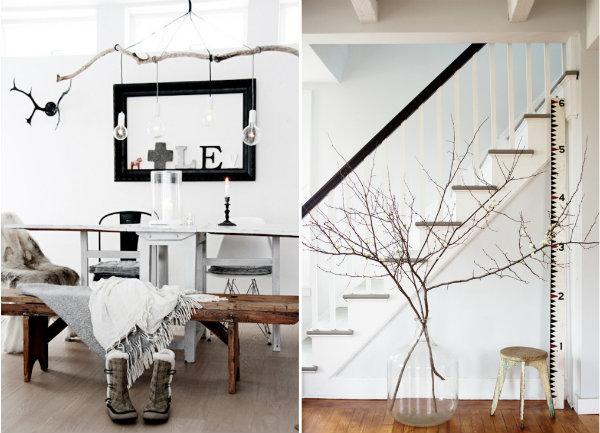 Decorare con alberi rami e tronchi il cestino da picnic for Idee fai da te per arredare la casa