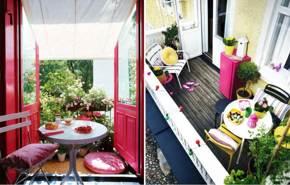 Sistemiamo i balconi il cestino da picnic - Fioriere da balcone ikea ...
