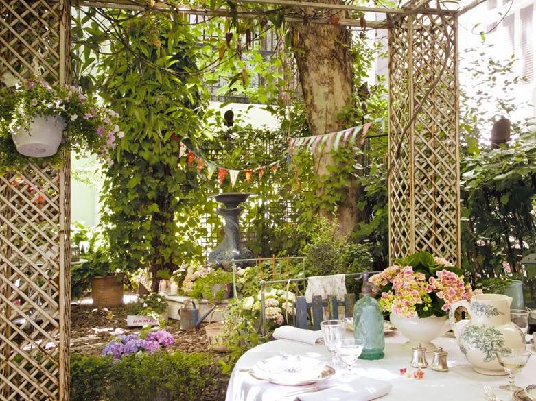 Giardino in citta il cestino da picnic for Addobbi da giardino