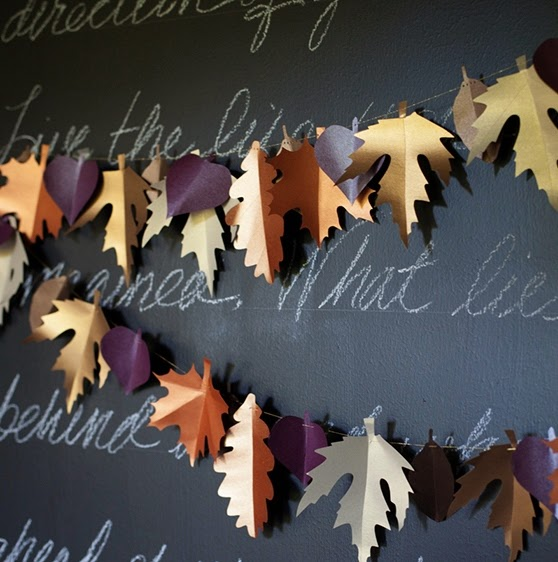 Una ghirlanda di foglie il cestino da picnic for Piani casa per il fine settimana