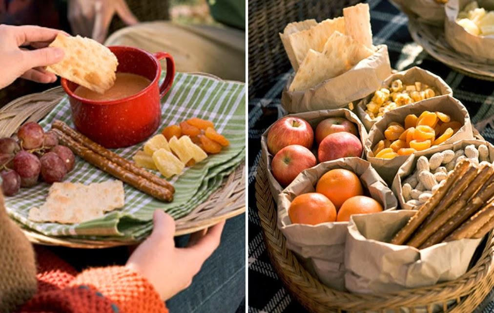Metti una domenica d autunno il cestino da picnic for Tavole da pranzo