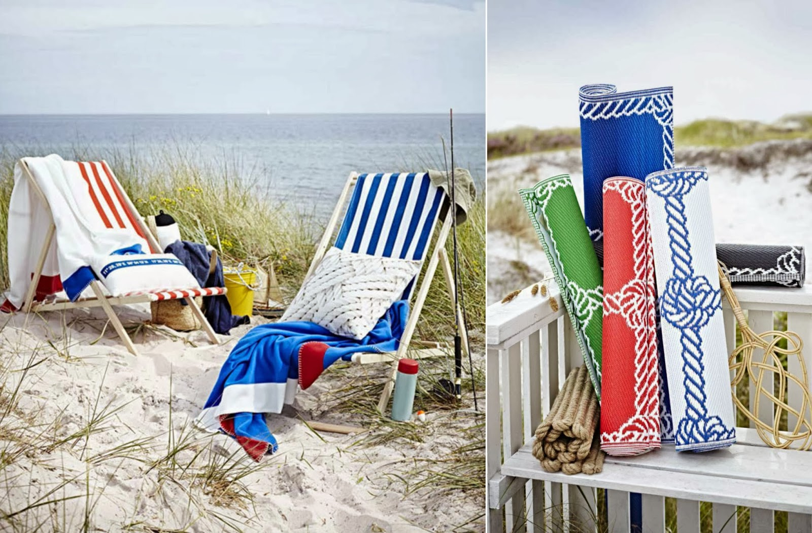 Lo stile marino di ikea il cestino da picnic for Arredamento marino